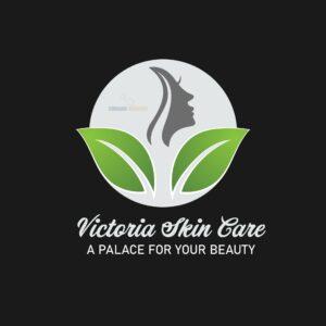 curacao-websites design logo of victoria skin care curacao